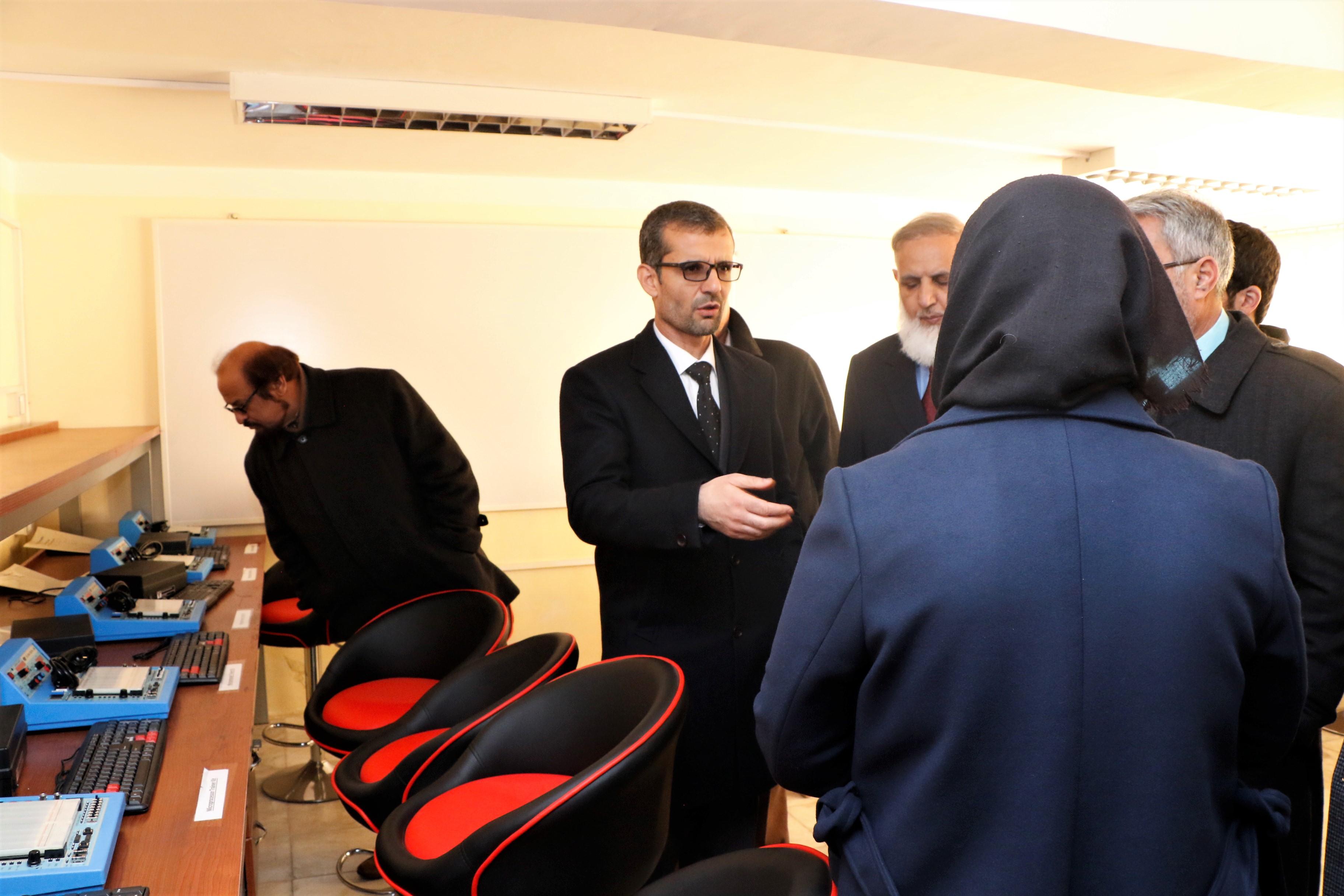 افتتاح مرکز ICT و استدیوی ثبت کورس های آنلاین