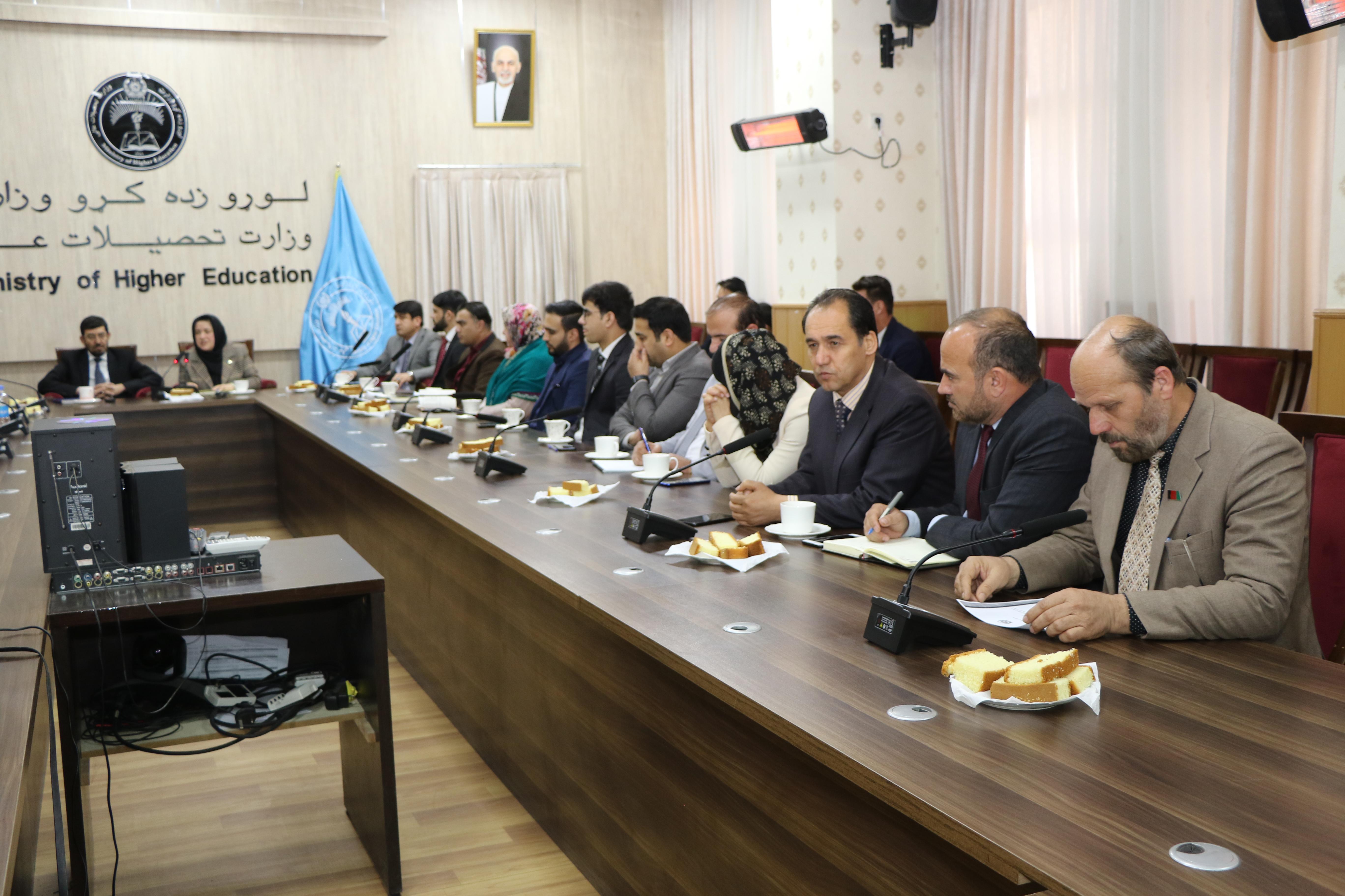 امضا تفاهمنامه همکاری میان وزارت تحصیلات عالی و شورای طبی افغانستان